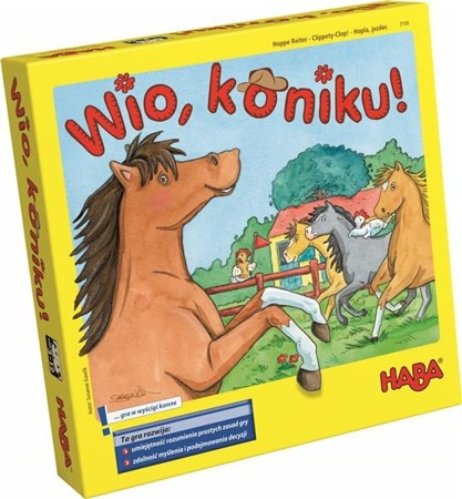 Gra planszowa Wio, Koniku! (Wer. PL), 3 lata +, HABA