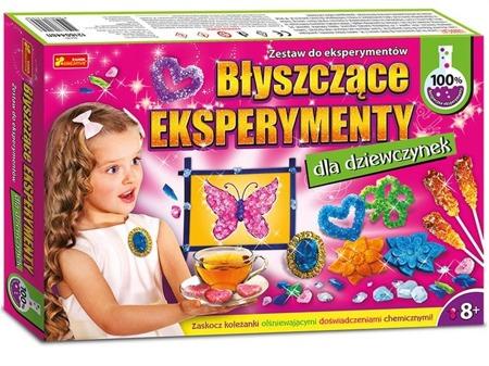 Błyszczące eksperymenty dla dziewczynek - doświadczenia 8 lat +, Ranok-Creative