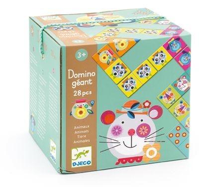 Domino edukacyjne - domino Geant Zwierzęta, Djeco