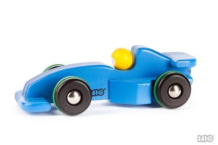 Drewniana formuła 1 - drewniany samochód wyścigówka dla dzieci Racing Car, BAJO