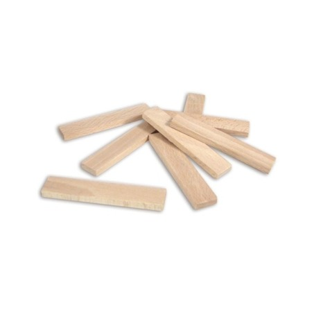 Drewniane, naturalne klocki - deseczki 100 szt. BATIBLOC, VILAC