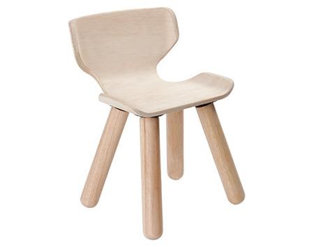 Drewniany stołek, krzesełko - ekologiczny, modny design do pokoju dziecka, zestaw Plan Toys