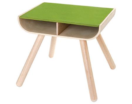Drewniany stolik dziecięcy - ekologiczny, modny design do pokoju dziecka, zestaw Plan Toys