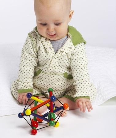 Elastyczna bryła, zabawka dla niemowląt - 0m+, Manhattan Toy