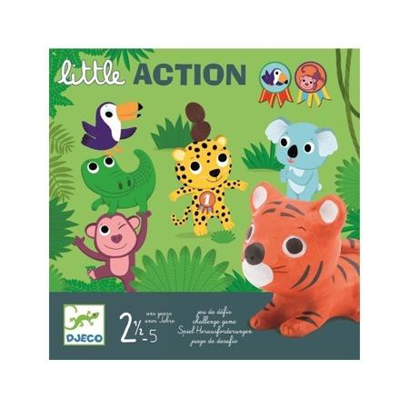 Gra dla dzieci - gra wyzwanie LITLLE ACTION 2 lata +, DJECO DJ08557