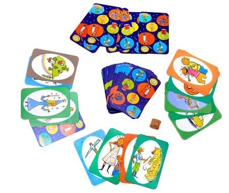 Gra dyskusyjna dla dzieci BLA BLA BLA, gra rozwijająca słownictwo i wyobraźnię, historyjki, DJECO