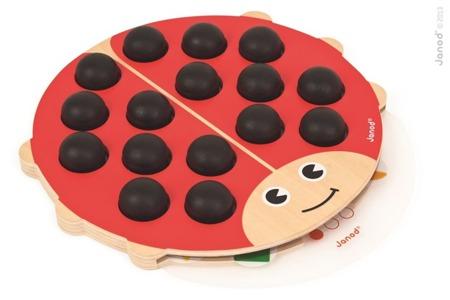 Gra memo Coccimemo (memory), Janod - gra pamięciowa, logiczna, edukacyjna