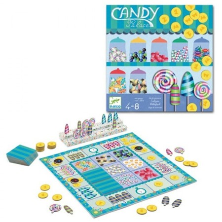 Gra taktyczna CANDY PALACE, 5 lat +, DJECO DJ08440
