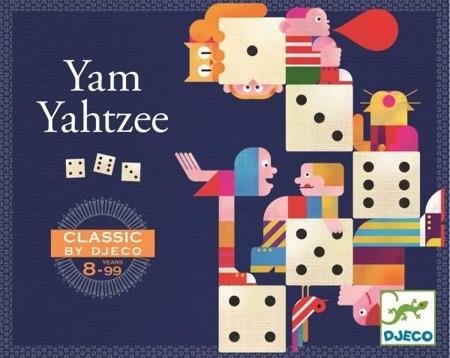 Gra w kości dla dzieci - Gra YAMS, DJECO DJ05231