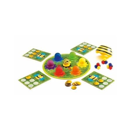 Gra zręcznościowa SPEEDY BEE - gra obserwacji i szybkości, DJECO DJ08414