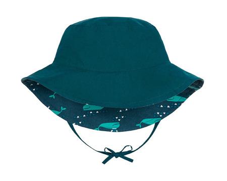 Lassig, Kapelusz dwustronny UV, 50+ Blue whale