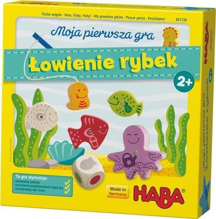 Gra Łowienie rybek - moja pierwsza gra (wer. PL), HABA