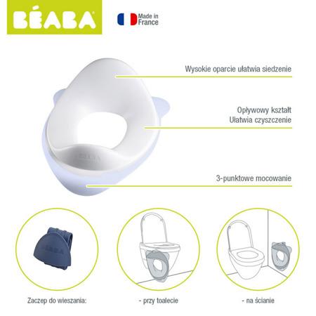 Nakładka na sedes - podkładka do toalety, na WC dla małych dzieci mineral, BEABA