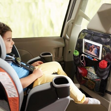 Organizer samochodowy - ochrona na fotel do auta Tonal Chevron, SKIP HOP