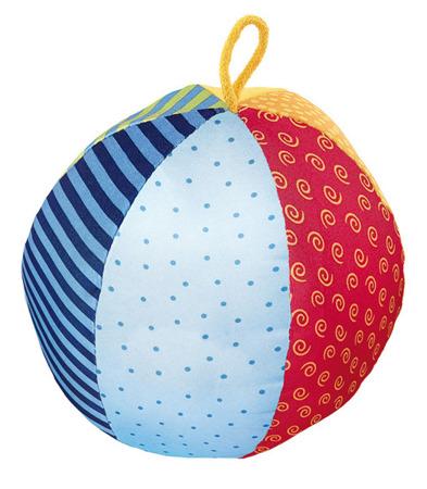 SIGIKID Miękka mini - piłka z grzechotką 3m+ PlayQ
