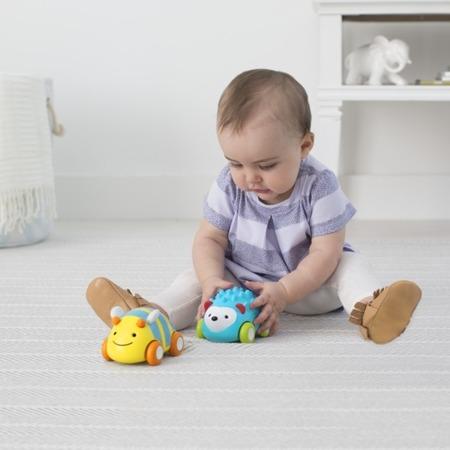 Samochodzik z napędem dla niemowlaka do puszczania - Jeż, SKIP HOP 303107
