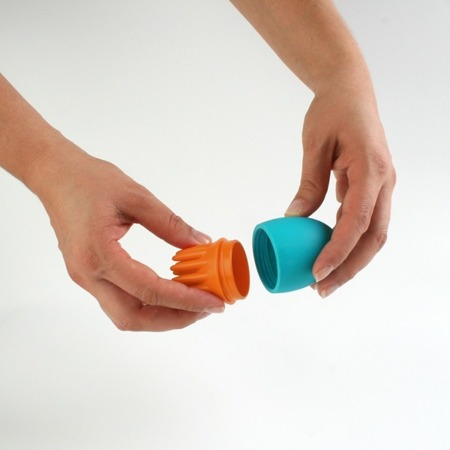 Scrubble - sensoryczne zabawki do przelewania wody, MIX and MATCH, Boon