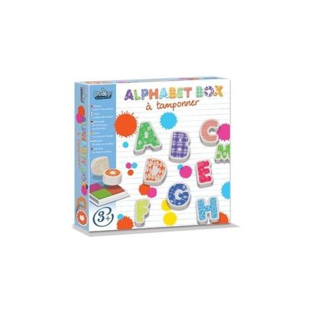 Stempelki piankowe dla dzieci - literki, ALFABET, 30 el., CREA LIGN'