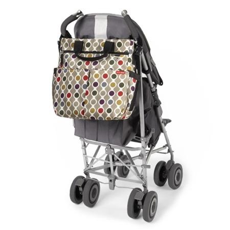Torba do wózka Duo Signature Wave Dot - pojemna torba dla mamy na akcesoria niemowlęce, SKIP HOP