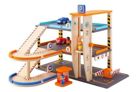 Wielopoziomowy parking z akcesoriami