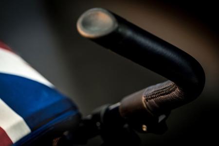 Wózek spacerowy / spacerówka z osłonką przeciwdeszczową 6,5kg Union Jack Vintage, MINI by Easywalker