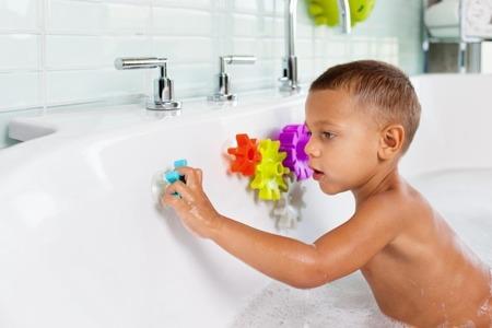Zabawka do kąpieli Zębatki Cogs - koła zębate do wanny, BOON B11134