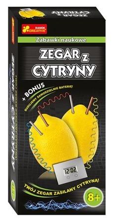 Zegar z cytryny - DIY, eksperymenty dla dzieci, 8 lat +, Ranok-Creative