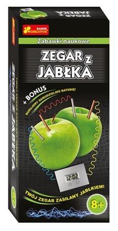 Zegar z jabłka - DIY dla dzieci, eksperymenty, 8 lata +, Ranok-Creative