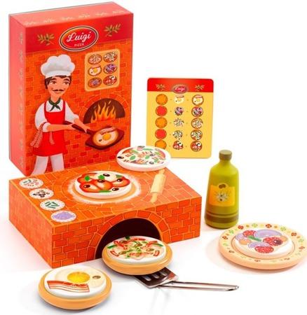 Zestaw do pizzy dla dzieci - zestaw prawdziwego kucharza PIZZA, DJECO