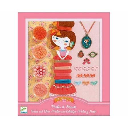 """Zestaw do tworzenia biżuterii dla dzieci - """"Sarenka i jej przyjaciółka"""" DJECO DJ09802"""
